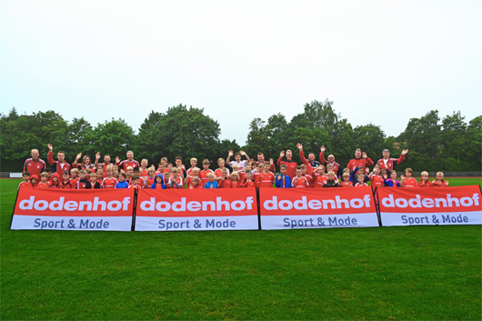3. dodenhof Fu�ball-Sommercamp