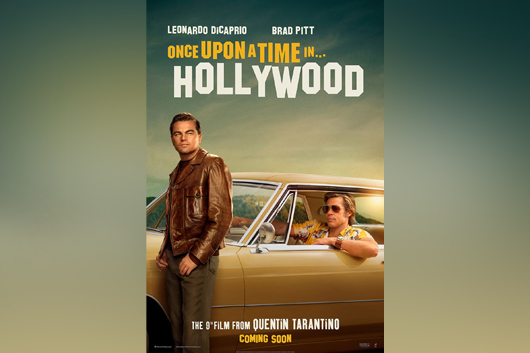 """Englisches Kino – """"Once Upon A Time In... Hollywood"""" VHS"""